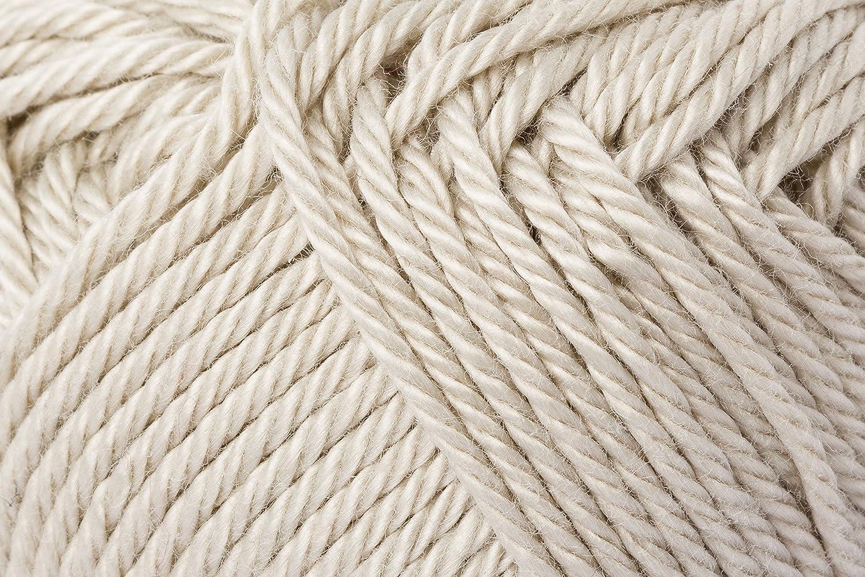 Schachenmayr Ovillo Hilo de algodón para Punto y Ganchillo Catania 9801210, algodón, Lino, 11,5 x 5,2 x 6 cm: Amazon.es: Hogar