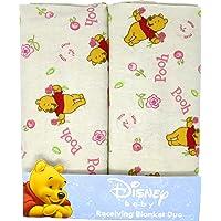 Disney Baby Winnie The Pooh 2-Pk Receiving Blankets