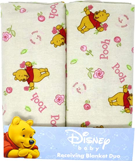 Single, pack de 4 anais Toalla de Disney Winnie con capucha para beb/é aden por aden