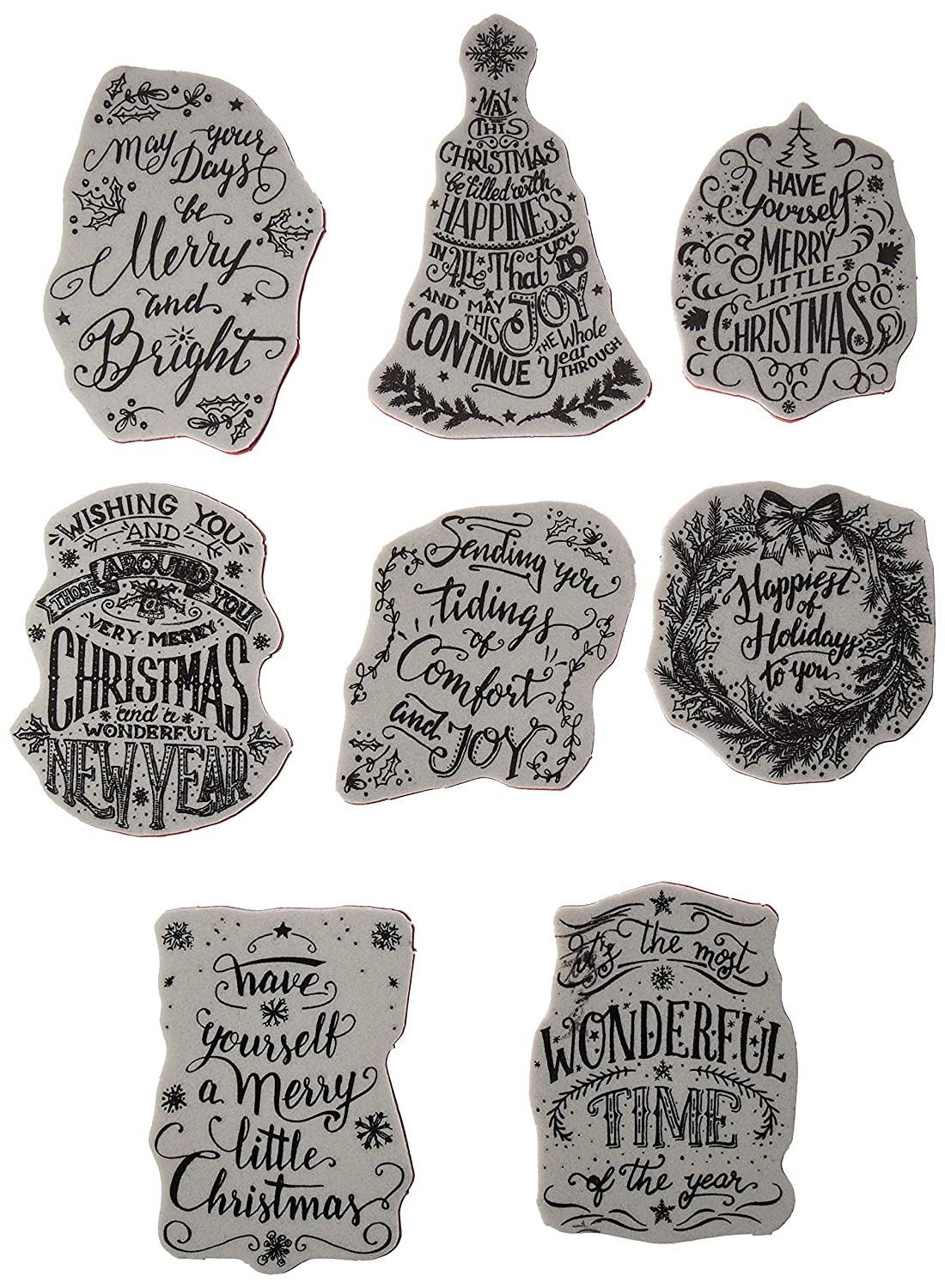 Stampers Anonymous CMS287 Tim Holtz Cling Stamps 7