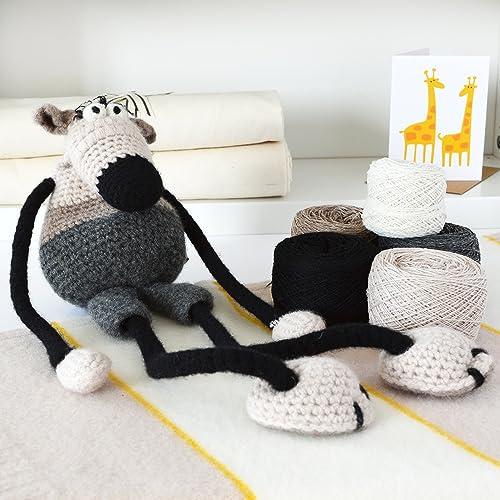 DIY Fox Stuffed Animal Knit & Crochet Kit - Darn Good Yarn   500x500