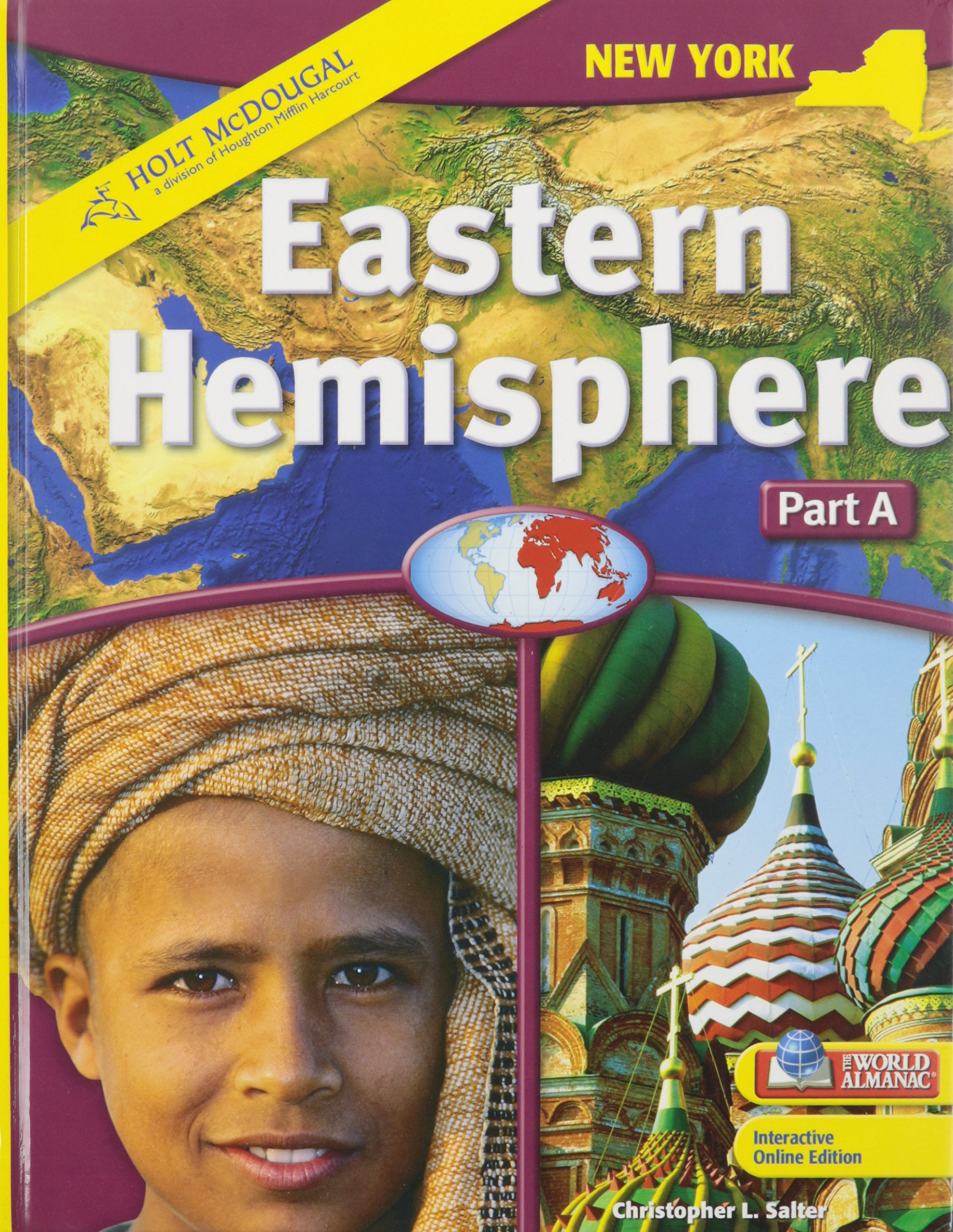 Read Online Holt McDougal Eastern Hemisphere  2009: Student Edition Part A: Geography and History 2009 pdf epub