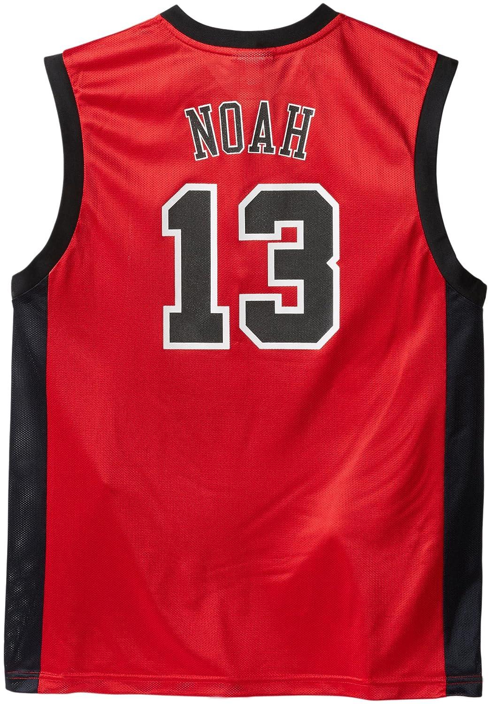 adidas NBA Chicago Bulls Joakim Noah Camiseta de Manga Larga ...