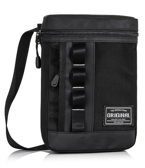 70249c1ff300 Leaper Small Messenger Bag Shoulder Bag Work Satchel Casual Bag Crossbody  Bag Black3