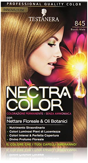 teinture pour les cheveux nectra color coloration sans ammoniaque n845 blond miel - Coloration Sans Ammoniaque Schwarzkopf