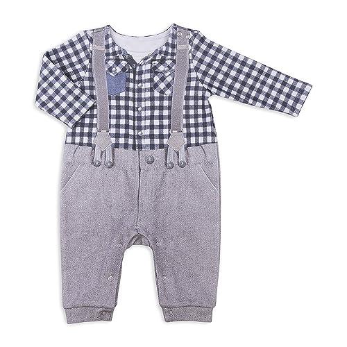 Kitikate Bebé niño - Body bebé con pantalones - 3D Impresión - 100 % Algodón