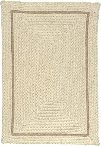 Shear Natural Rug, 12 x 15 , Canvas