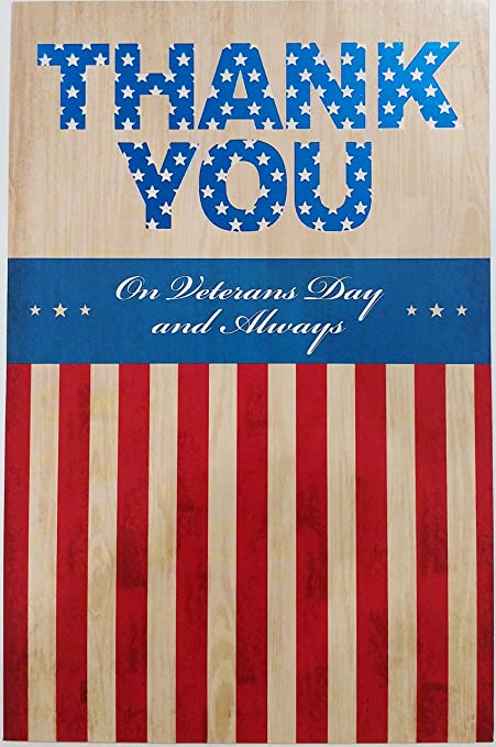 Amazon happy veterans day greeting card thank you serving happy veterans day greeting card thank you quotserving our country is an honorable m4hsunfo