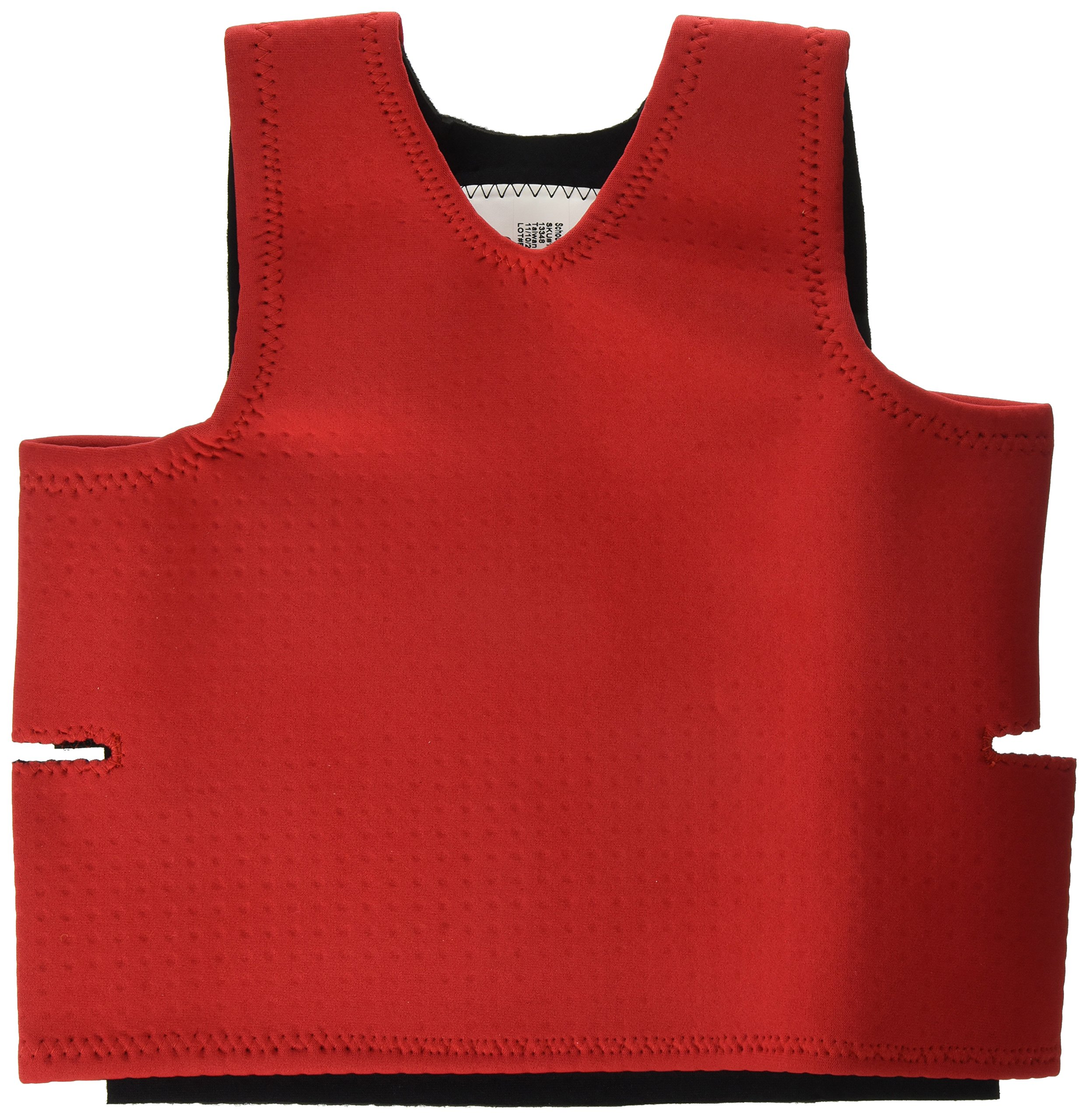 Abilitations Integrations Deep Pressure Sensory Vest, Extra Small, Red by Abilitations