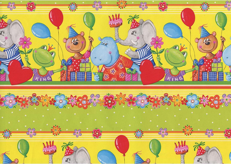 60/g//m/² papier Kraft SUSY CARD 11266376/Papier cadeau Motif: Ahoi PEFC