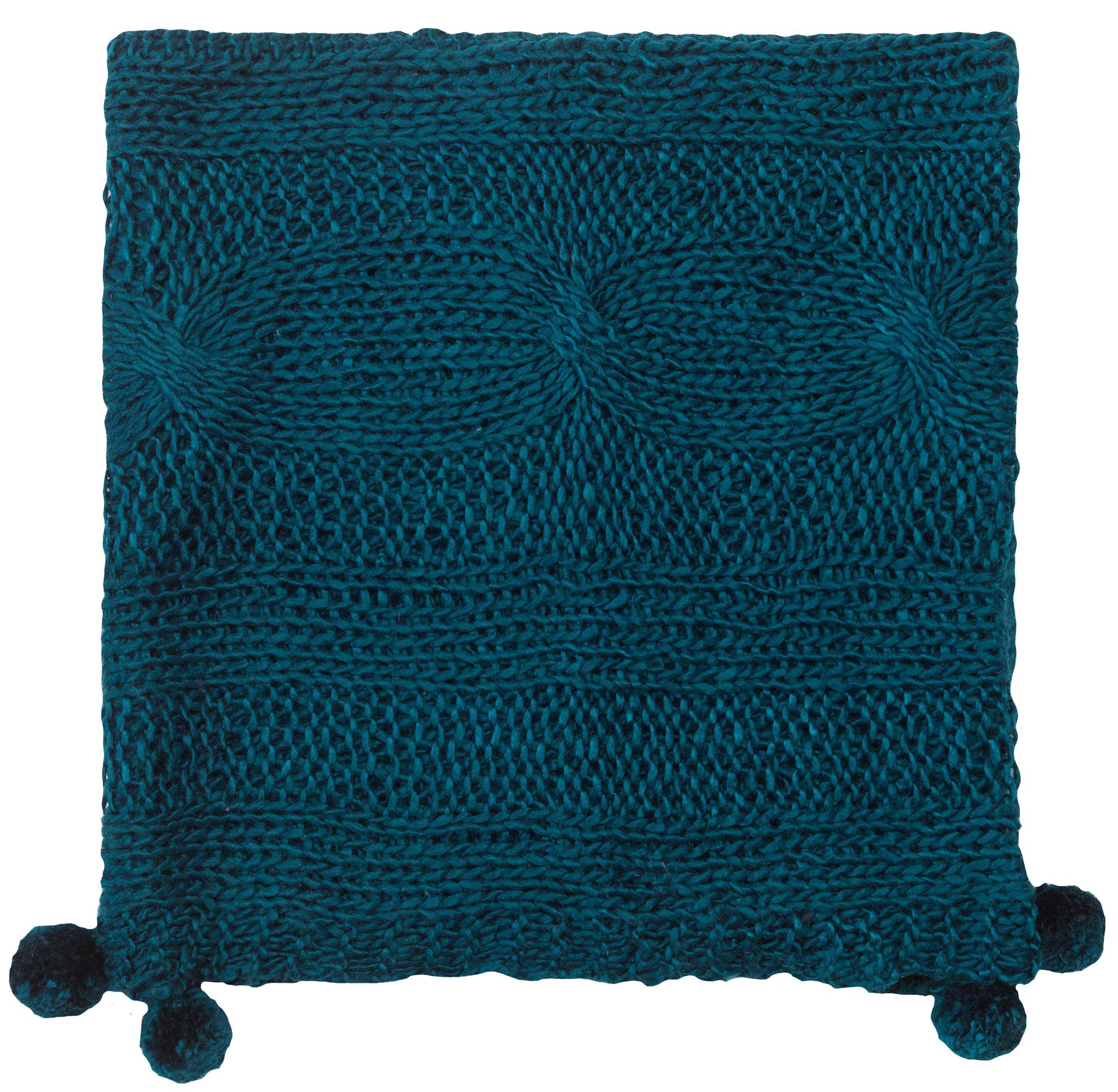 Company C Felicity Throw Blanket, 0, Teal