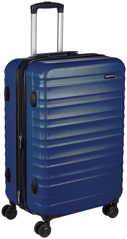 Basics Hardside Spinner Luggage - 24-Inch Black T1916-2