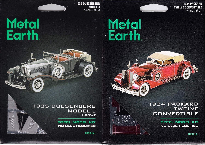 Metal Earth Duesenberg II SJ 1935 3D-Metall-Bausatz original Metal Earth 1200