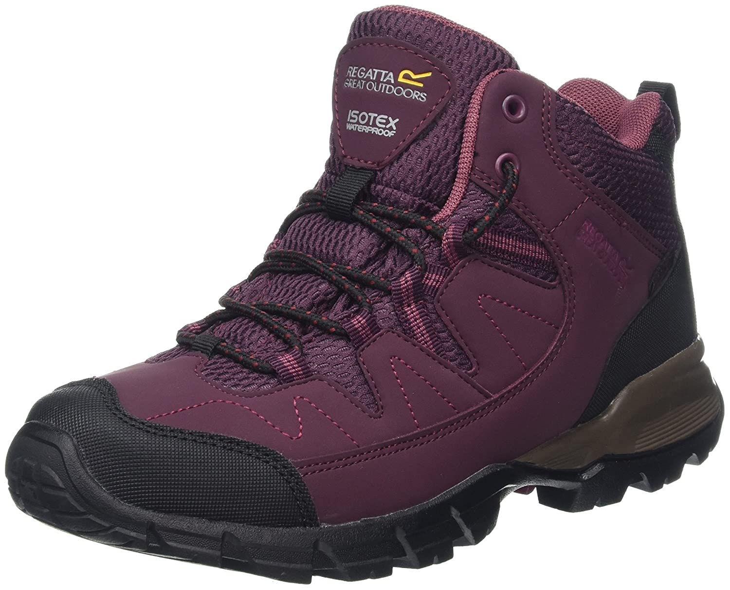 fbe1e954c56 Regatta Lady Holcombe Mid, Women's High Rise Hiking Boots