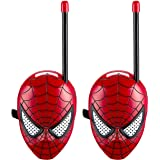 Spiderman Homecoming Walkie Talkies for Kids Static Free Extended Range Kid Friendly Easy to Use 2 Way Walkie Talkies