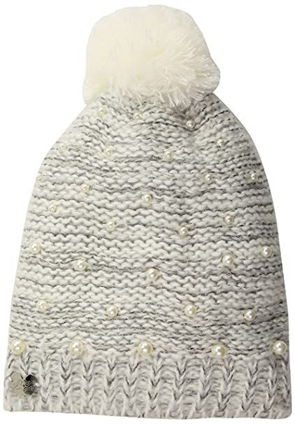db884fa1cbd47a Betsey Johnson Women's Cascading Pearls Beanie, ivory, ONE SIZE at Amazon  Women's Clothing store: