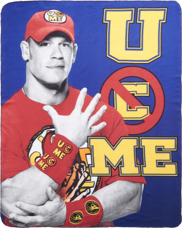 WWE John Cena Fleece Throw Blanket
