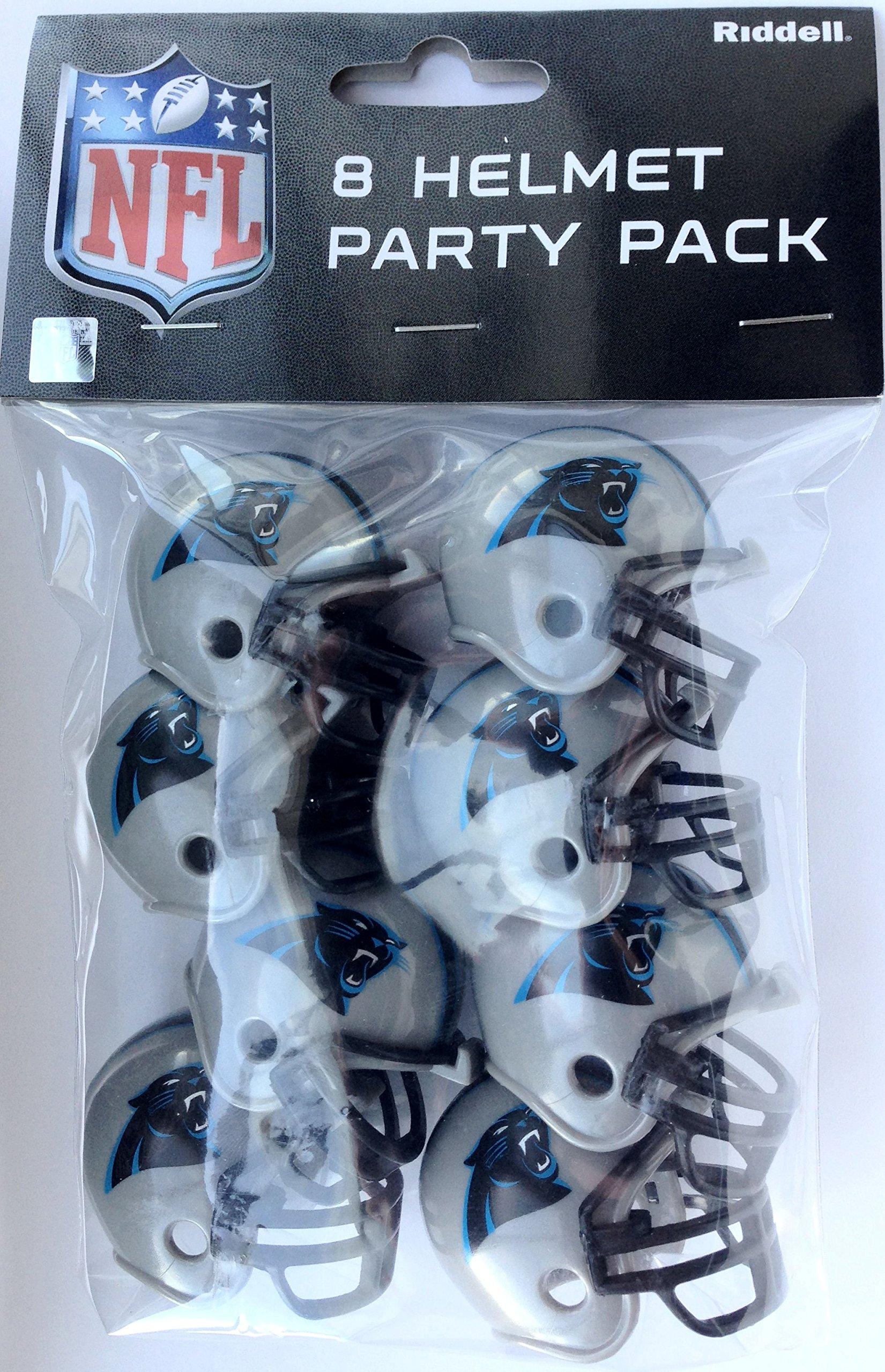 Carolina Panthers Team Helmet Party Pack