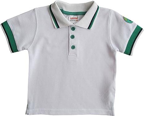 132c0291 Schnizler Boy's Sports Polo Shirt, White-Weiß (Original 900), 3-6 Months:  Amazon.co.uk: Clothing