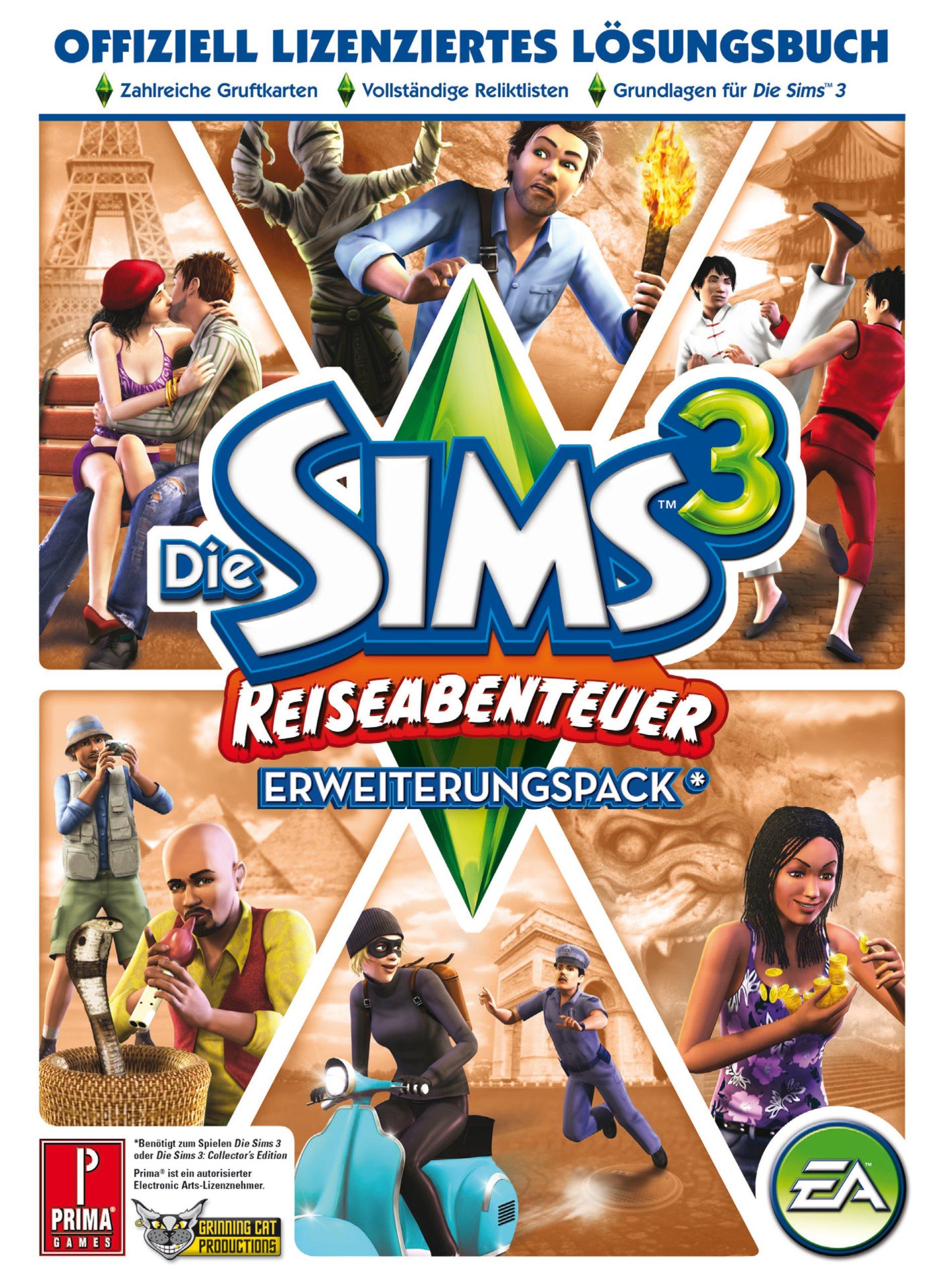Die Sims 3 Reiseabenteuer Lösungsbuch