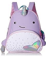 """Skip Hop Toddler Backpack, 12"""" Narwhal School Bag, Multi, 0.4 Pounds"""