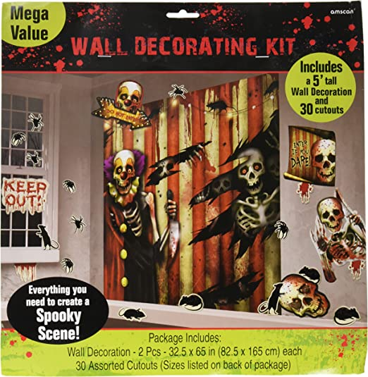 amscan Kit de decoración Halloween - Única: Amazon.es: Hogar