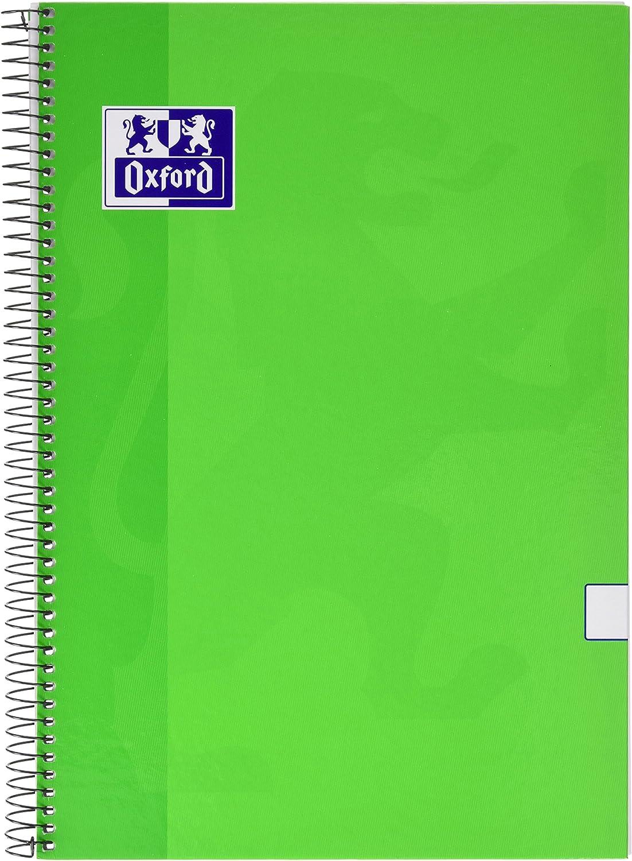 Oxford 341688 - Cuaderno liso con margen, formato folio, 80 hojas ...