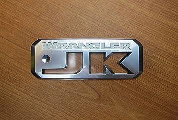 JEEP WRANGLER Silver And Black Preformance Parts Emblem NEW OEM MOPAR