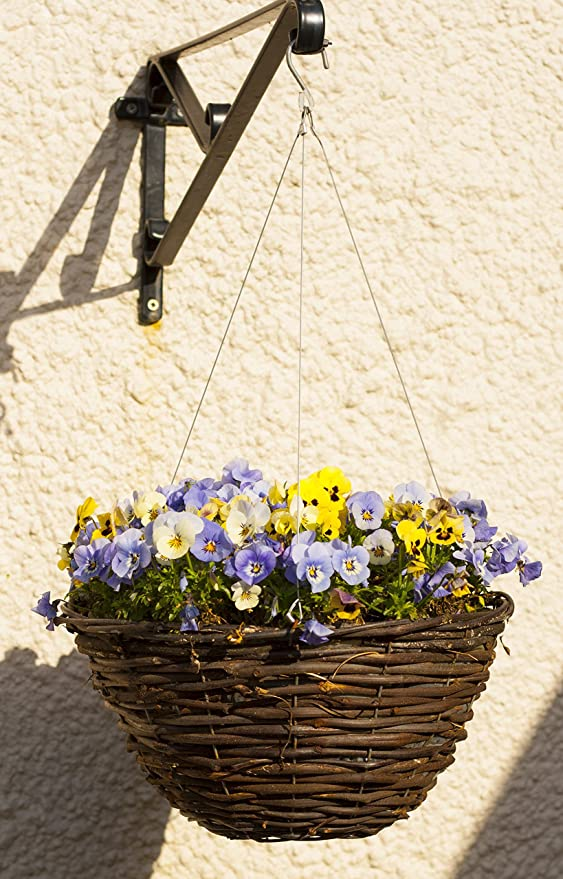 Floating hanging basket stainless steel alternative to chains fits plantopia