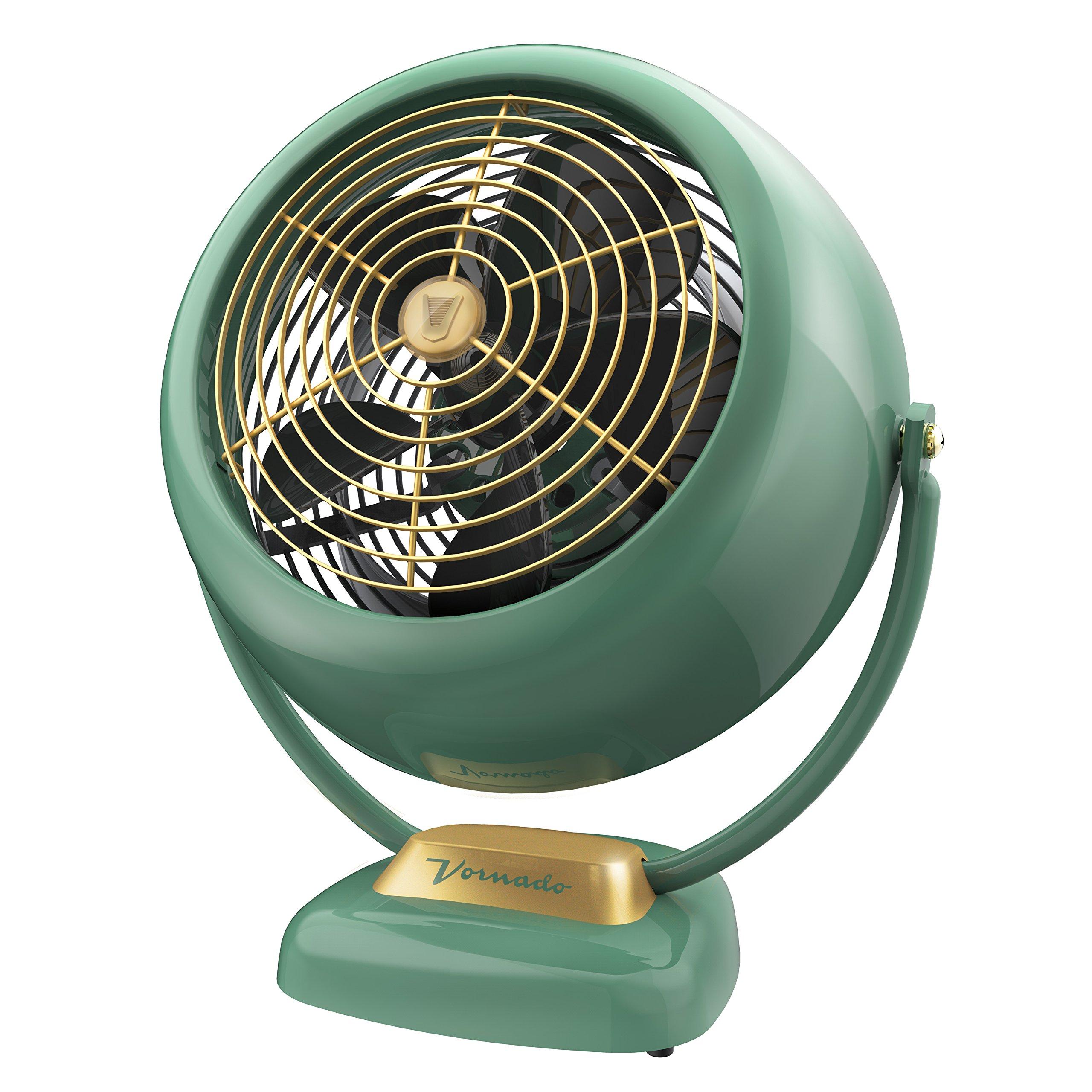 Vornado VFAN Sr. Vintage Air Circulator Fan, Green by Vornado