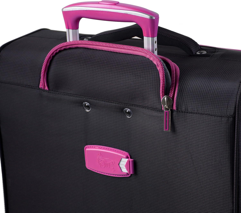 Mia Toro Italy Piuma Softside 28 Inch Spinner Luggage Blue