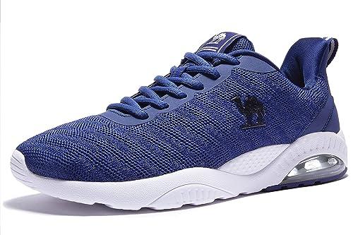 c2246880d279 CAMEL CROWN Hommes Chaussures de Sports Course Basket Mode Course Sneakers  Fitness Gym athlétique Multisports Shoes