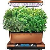 AeroGarden Harvest Elite with Gourmet Herb Seed Kit Hydroponic Garden, Copper Stainless