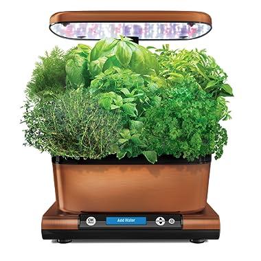 AeroGarden Harvest Elite (Classic) with Gourmet Herb Seed Pod Kit, Copper