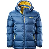 Kathmandu Elcho Kids Boys Girls Hood Warm Winter Outdoor Duck Down Puffer Jacket