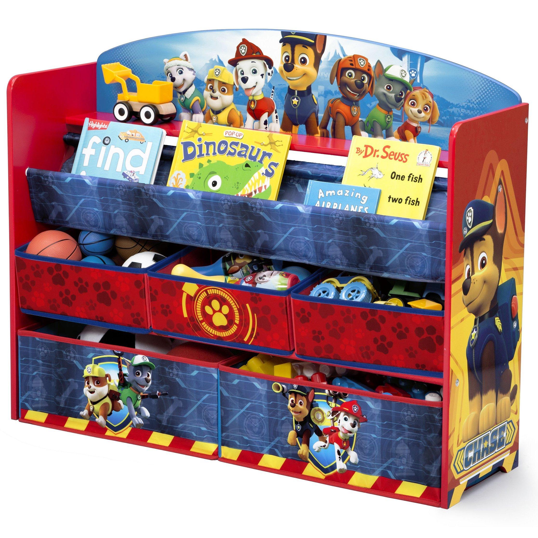 Delta Children Deluxe Book and Toy Organizer, Nick Jr. PAW Patrol by Delta Children (Image #4)