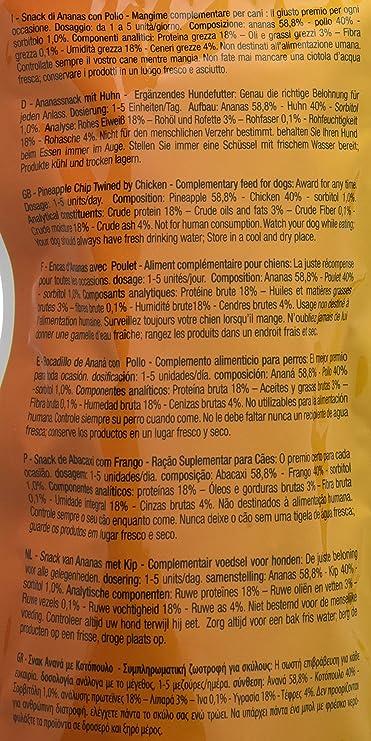 Croci King dtasty piña/Pollo para Perro 80 g – – Juego de 12 ...