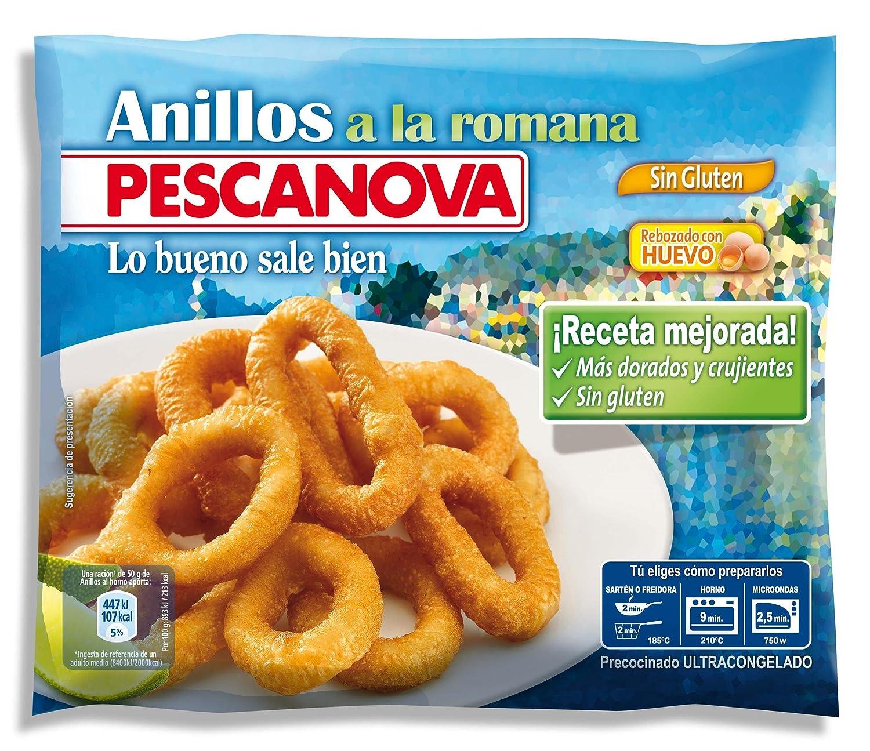 Pescanova - Anillos a La Romana sin Gluten - 400 gr: Amazon.es: Alimentación y bebidas