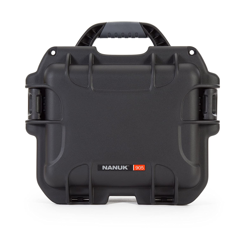 Nanuk 905 Waterproof Hard Case Empty - Black Plasticase Inc 905-0001