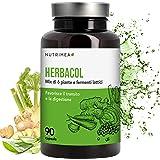 HERBACOL COLON CLEANSE - 5 Piante e Radici NATURALI per SGONFIARE L'ADDOME - DEPURANTE e DRENANTE pulisce il colon e l'intestino - Stimola l 'EQUILIBRIO INTESTINALE, aiuta a ritrovare la linea - Cura Detox Vegetale e Naturale