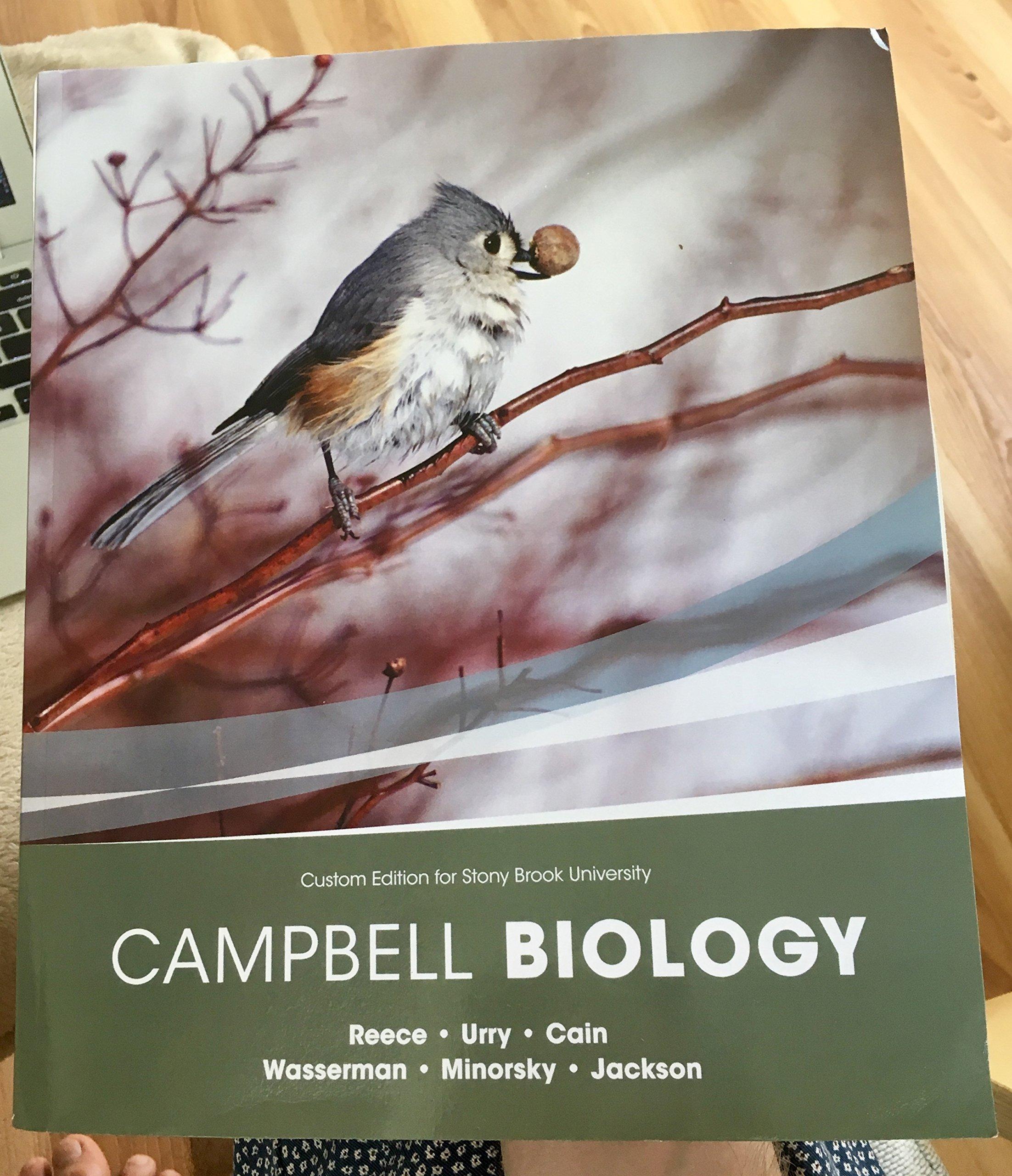 Campbell Biology Custom Stony Brook 10 Th Edition Reece Urry Cain