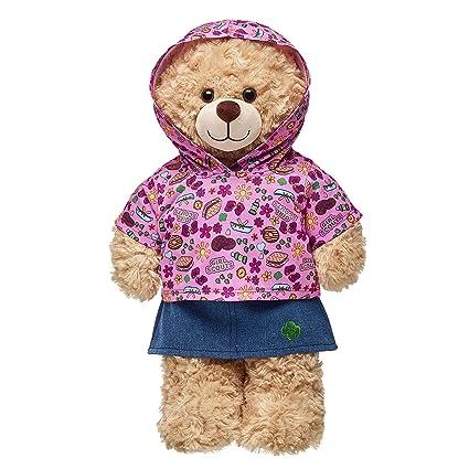 3485de813fd Amazon.com  Build A Bear Workshop Girl Scout S Mores Hoodie   Skirt ...