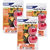 Terro Fruit Fly Trap - 3 Pack (6 Total Traps) T2502-3