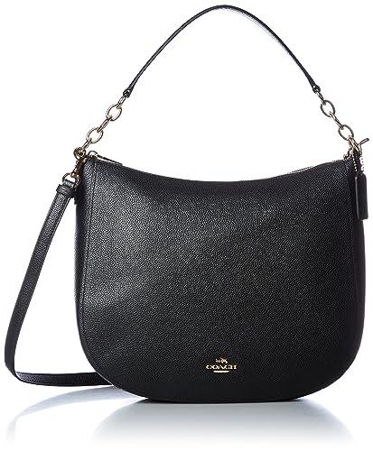 0a245d451ede Coach Chelsea Ladies Medium Leather Hobo Handbag 58036  Amazon.co.uk   Clothing
