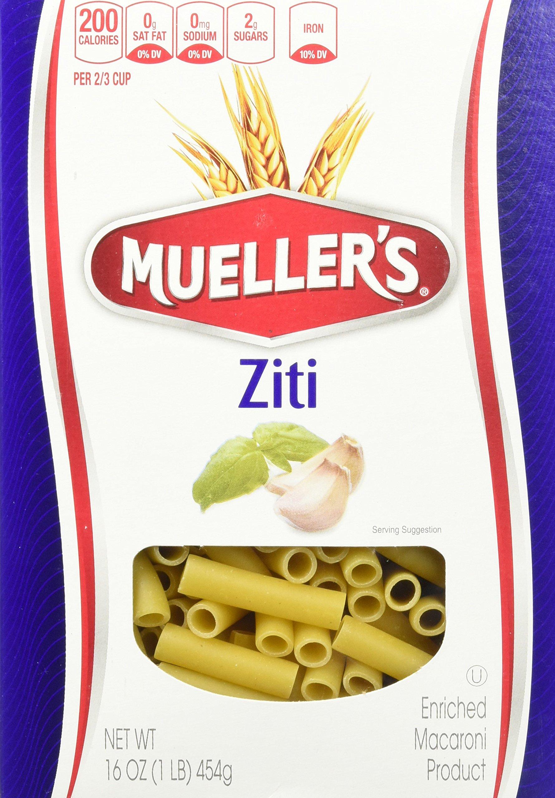 Mueller's Ziti, 16 Ounce