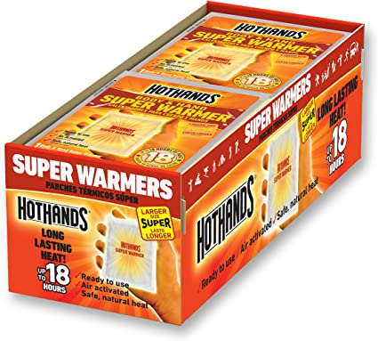 5 Pairs of Hand Warmers Heated Pads Ideal Warmth for Winter Sports Spectators