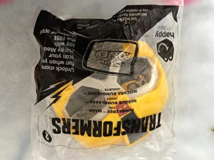McDonalds Transformers Bumblebee Mask