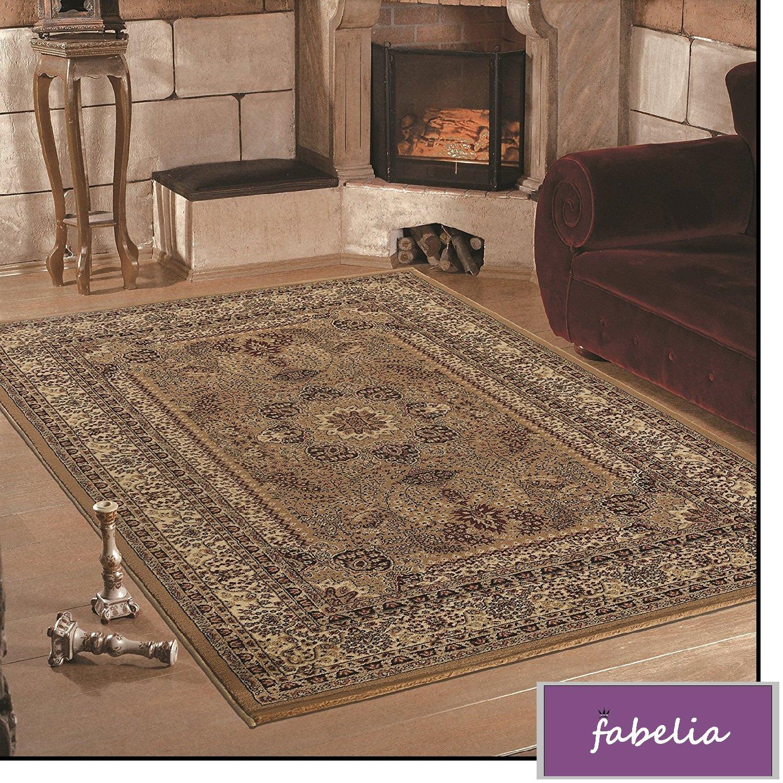 Orientalischer Teppich Casablanca - Klassischer Teppich mit orientalisch-europäischen Designs (240 x 340 cm)