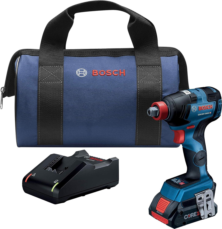 Bosch GDX18V-1800CB15 18V Brushless Impact