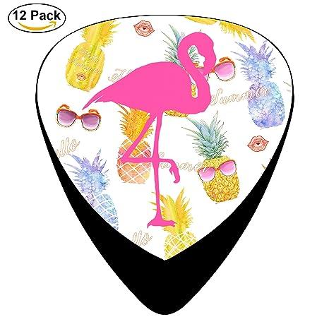 stremusic rosa dibujos animados Flamenco Guitarra eléctrica 12 ...